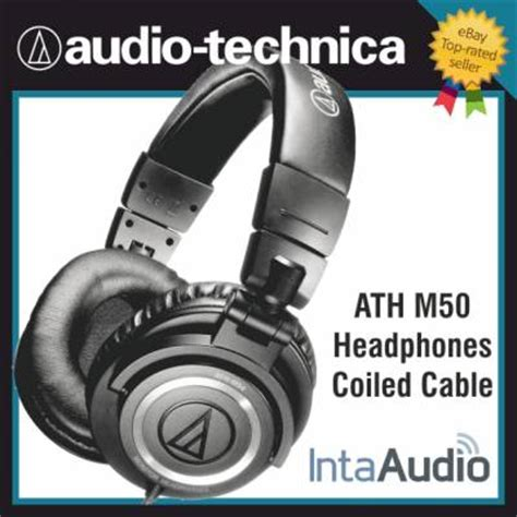 audio technica ath m50 comfort audio technica ath m50 headphones coiled cable