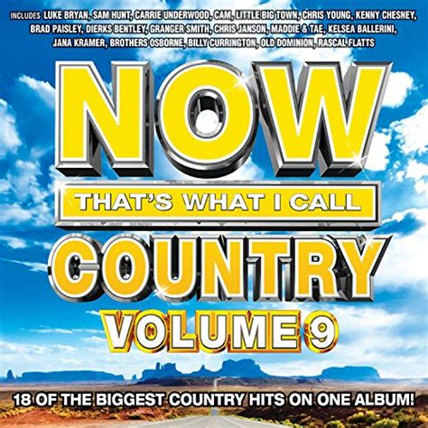 now that s what i call country volume 9