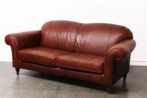 broyhill leather couch vintage broyhill leather sofa vintage supply store