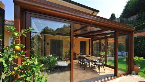 terrazze chiuse con vetrate vetrate scorrevoli tecnoart infissi e verande