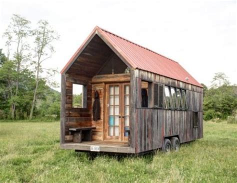 micro mobile homes tiny mobile shelter with rustic charm digsdigs