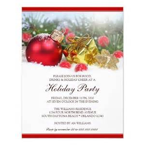 Unique holiday party invitation template 4 25 quot x 5 5 quot invitation card