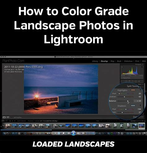 tutorial fotografia profesional how to color grade landscape photos in lightroom