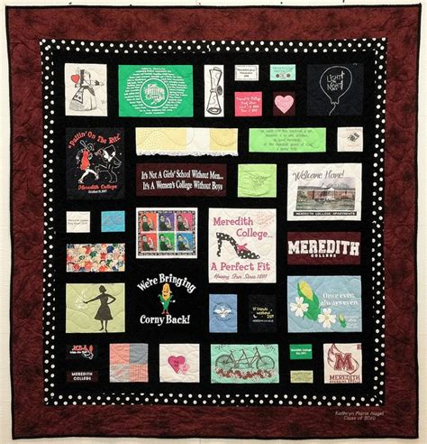 T Shirt Patchwork Quilt - nancy s custom t shirt quilt by patchwork memories via