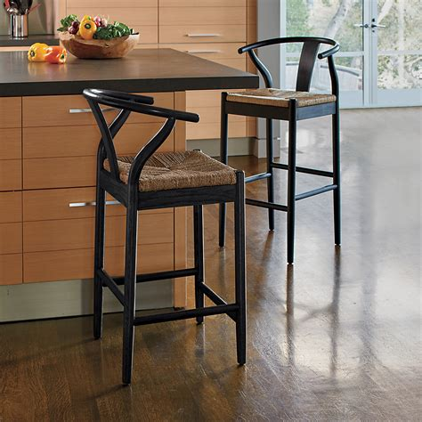Black Counter Stools by Horseshoe Bar Counter Stools Black Gump S