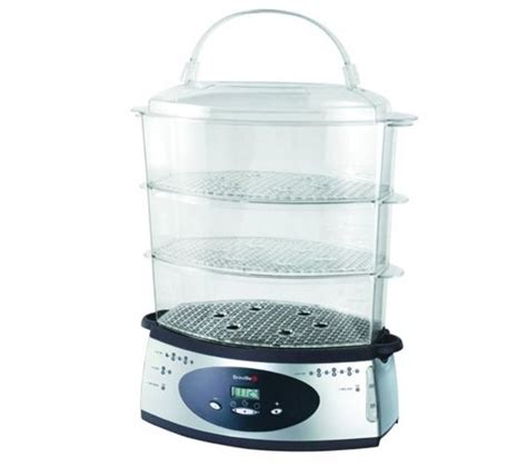 Kitchen Steamer Company by Buy Breville Vtp068 Digital Steamer Silver Free