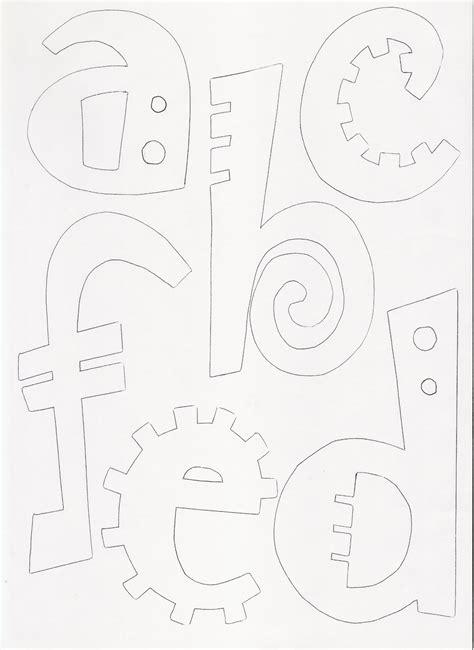 moldes de letras moldes de letras del abecedario para liar o reducir y