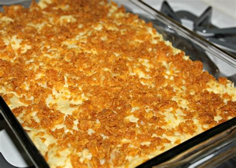 cheesy hash brown bake clever housewife