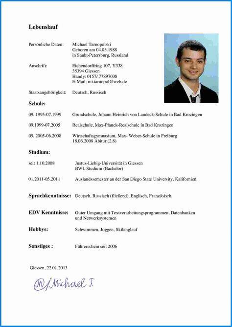 Lebenslauf Vorlage Universitat 8 Sprachkenntnisse Lebenslauf Business Template