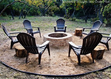 how to make fire pit in backyard how to make outdoor fire pit diy crafts handimania