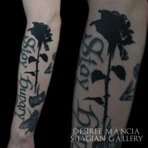 dark black rose tattoo black grey archives page 2 of 7 stygian gallery