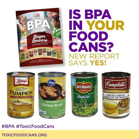 canned food new report finds bpa in the majority of canned foods