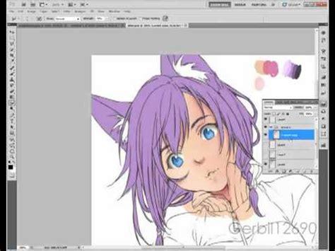 paint tool sai vs photoshop speed painting sai and photoshop