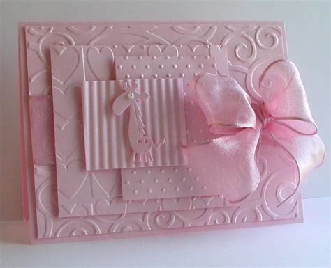 Handmade Baby - 25 best ideas about handmade baby cards on