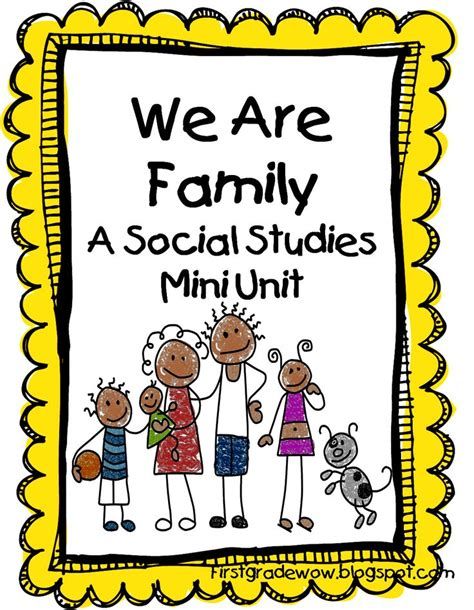kindergarten activities on family best 25 family units ideas on pinterest kindergarten