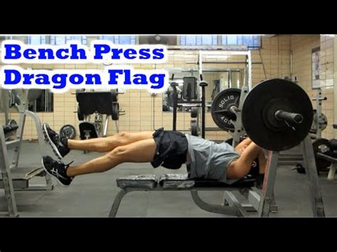 superset with bench press creative superset bench press dragon flag exercise youtube