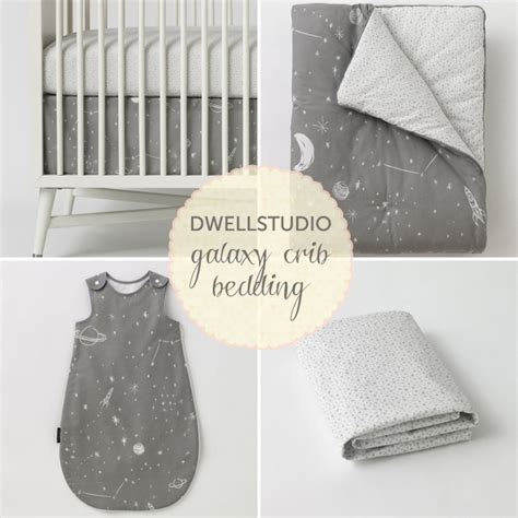 Galaxy Crib Bedding by Dwellstudio S Galaxy Crib Bedding