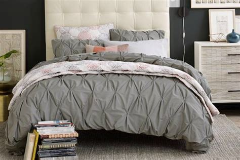 pintuck comforters friday find pintuck bedding how to simplify