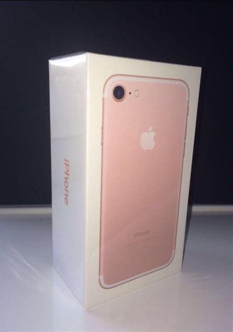 Iphone 7 128rose Gold iphone 7 gold 128gb in rainworth nottinghamshire gumtree