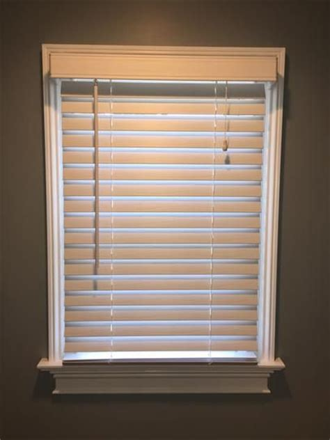 25 best ideas about faux wood blinds on