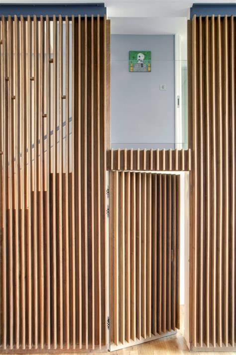 wood slat wood slats add texture and warmth to these homes