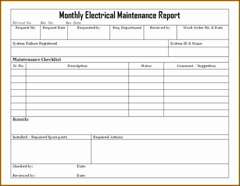 8 Monthly Report Format Template Editable Sletemplatess Sletemplatess Infection Monthly Report Template