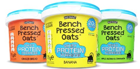 bench pressed oats tesco launch trendmonitor