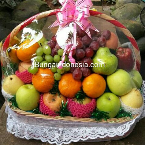 Keranjang Parcel Di Jakarta toko parcel buah di kuningan city 085959000628 kode bi pb 09 bunga mawar