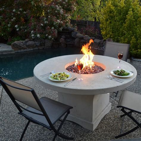 gas patio table 17 best ideas about pit table on deck