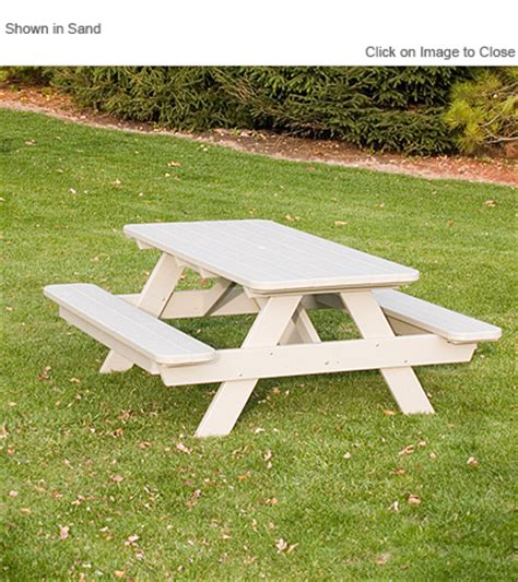 commercial grade picnic tables polywood 174 pt172 commercial grade picnic table polywood