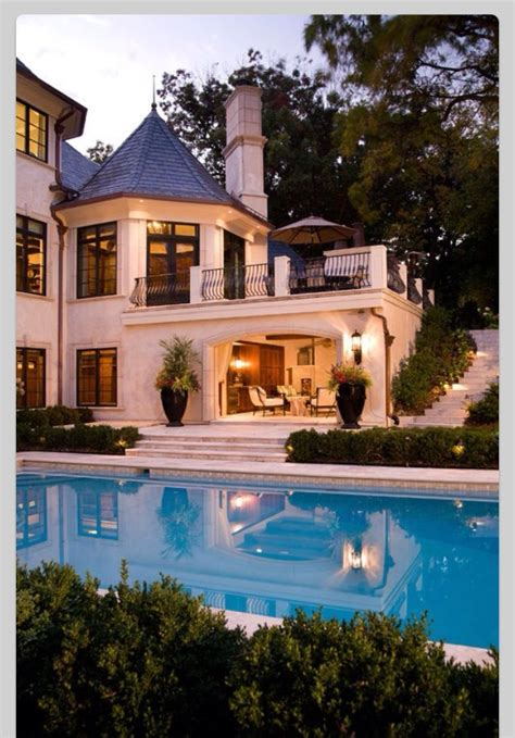 beautiful dream homes pool amazing big house dream house balcony dream