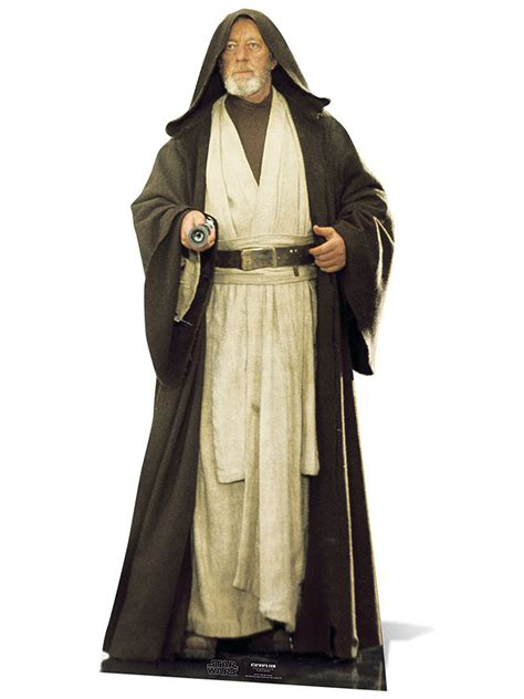 Home Decorating Games by Obi Wan Kenobi Alec Guiness Cardboard Cutout Star Wars