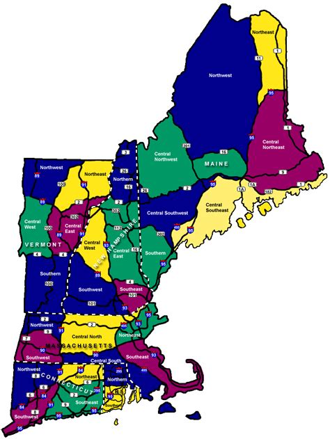 new states map map new states map