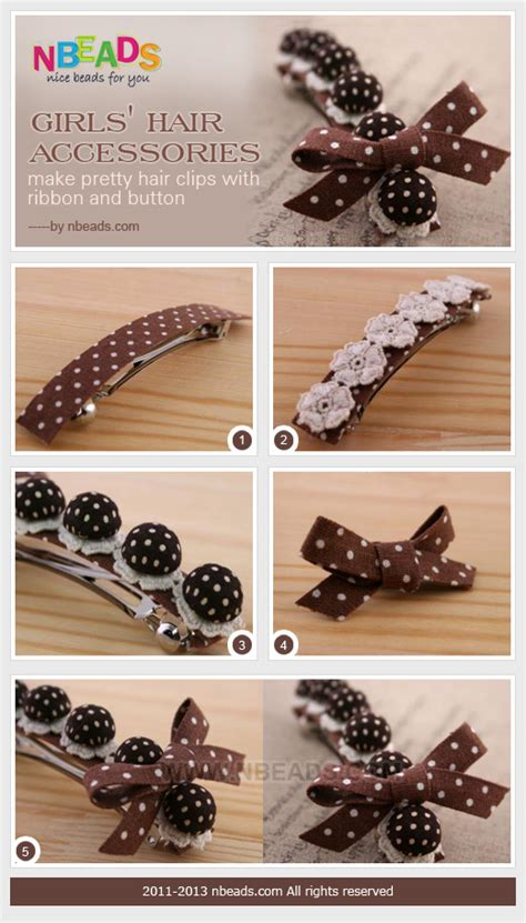 how to make hair jewelry hair accessories make pretty hair with