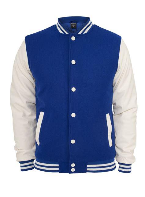 New Jaket Polos Biru Blue classics college jacket oldschool blue