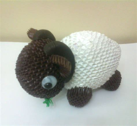 3d Origami Sheep - sheep album mohammad nofal 3d origami