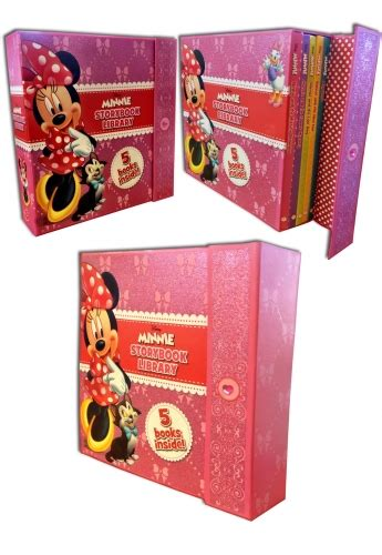 Disney Minnie Story Books Library Collection 5 Books Set disney junior minnie storybook library collection 5 books