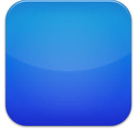 blue button icon – free icons download