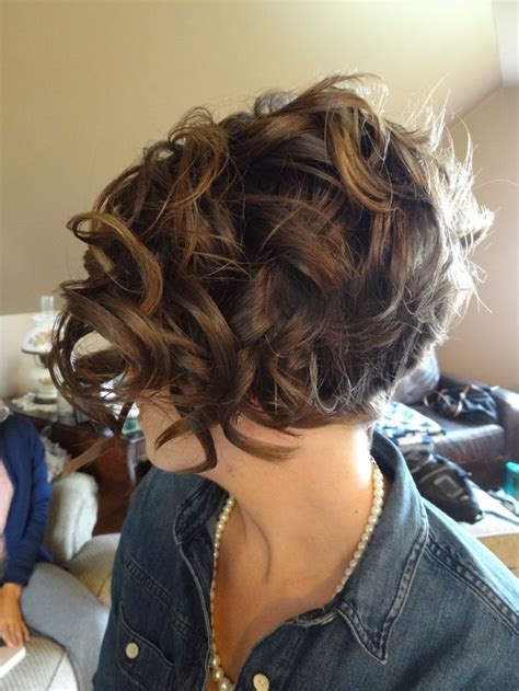 hairstyles shorter in back bob hairstyles curly 16 great short formal hairstyles for 2018 short curly