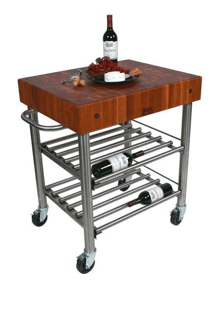 john boos kitchen islands carts hayneedle john boos cucina d amico kitchen wine cart w cherry top