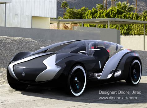 Maserati Concept Car by Maserati Tramontane Concept Cars Diseno