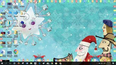 windows  christmas themes wallpapers tree screensavers snow