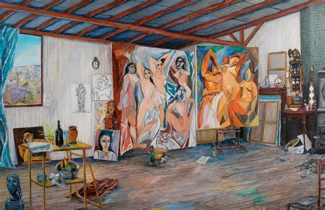 picasso paintings les demoiselles d avignon with sight and sound the fleming explores picasso s