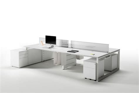 sectional office desk sectional office desk with shelves spine by actiu