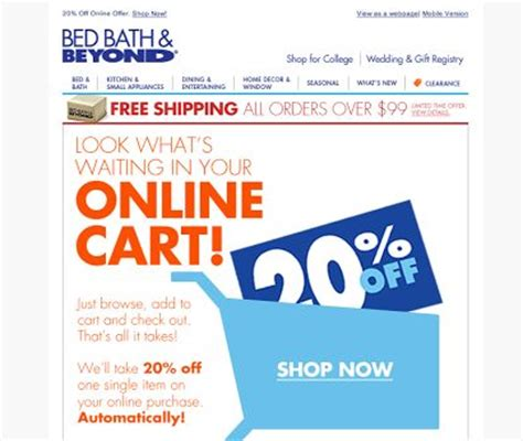 online bathrooms discount code 20 things you need to know about those famous bed bath