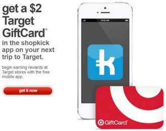 Shopkick Amazon Gift Card - free 2 target gift card from shopkick smartphone required thrifty nw mom