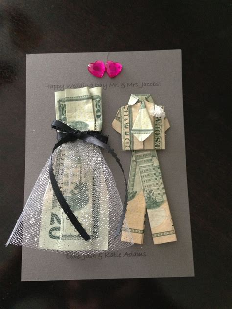 wedding money money as a wedding gift how much should you expect