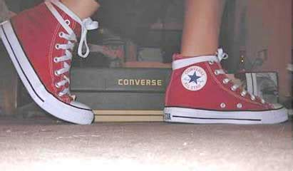 how to bar lace converse high tops shoelaces for chucks