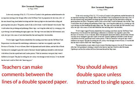 Spaced Essay Exle by What Is Spacing