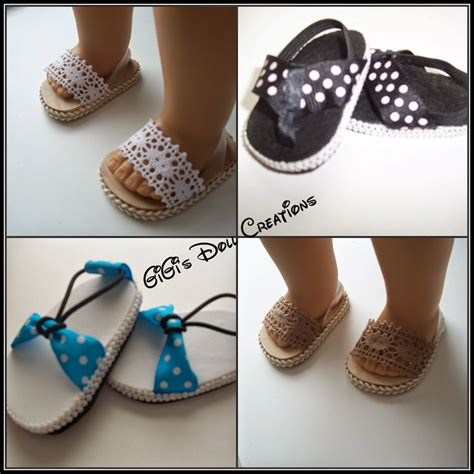 how to make shoes for american dolls american clark doll with book dolls sandals and